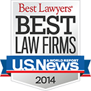 Best Law Firms 2014 Logo